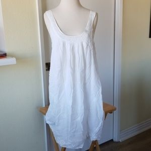 Roberta Roller Rabbit white nightgown